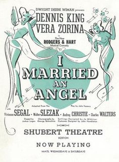 <i>I Married an Angel</i>
