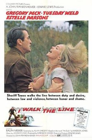 I Walk the Line (film) - Film poster.