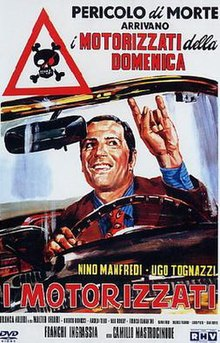 Risultati immagini per I MOTORIZZATI ( 1962 ) POSTER