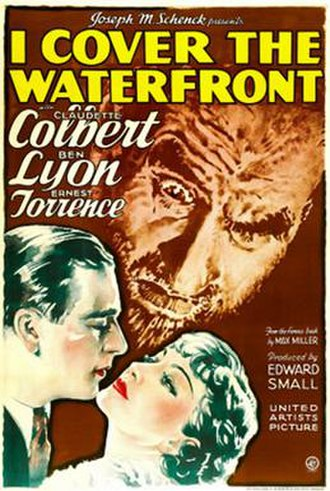 I Cover the Waterfront - Theatrical release poster