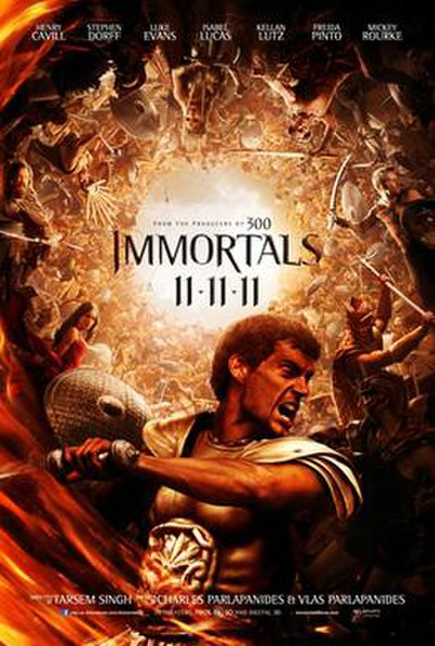 Picture of a movie: Immortals