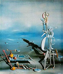 Yves Tanguy, Indefinite Divisibility 1942