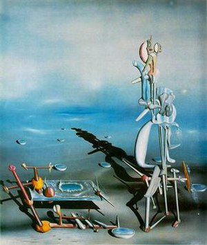 Yves Tanguy Indefinite Divisibility 1942, Albr...