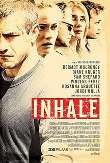 <i>Inhale</i> (film) 2010 film by Baltasar Kormákur