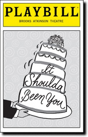 It Shoulda Been You - 2015 Broadway Playbill