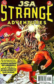 JSA Strange Adventures #1 (October 2004).  Art by John Watson.