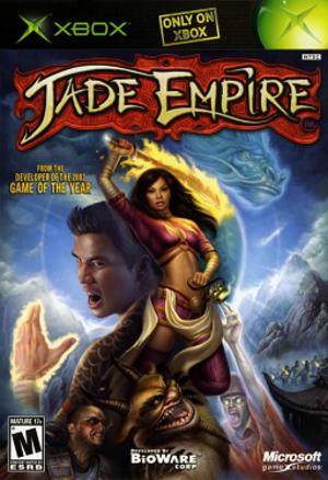 Jade Empire - North American Xbox cover art