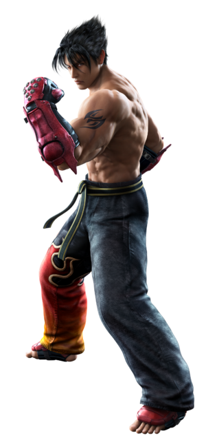 Tekken - Jin Kazama, the main protagonist of the series since his debut in Tekken 3