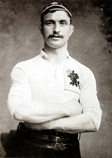 John Toothill English rugby union and rugby league footballer