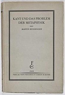 <i>Kant and the Problem of Metaphysics</i> book by Martin Heidegger