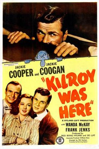Kilroy Was Here (1947 film) - Theatrical release poster