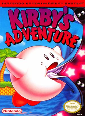 Kirby's Adventure - North American box art
