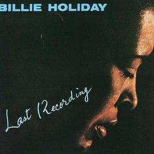 Last Recording - Image: Lastrecording 1959