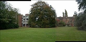Leckhampton, Corpus Christi College, Cambridge - The George Thomson Building and Leckhampton House