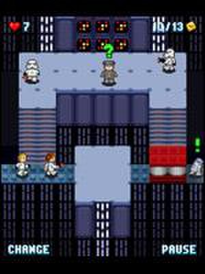 Lego Star Wars II: The Original Trilogy - A version of Lego Star Wars II was also published by THQ for mobile phones