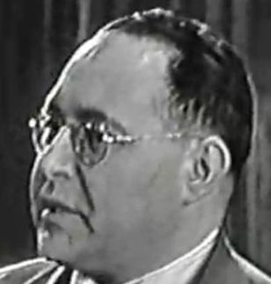 Leo Dorfman - Dorfman being interviewed on the game show Two for the Money