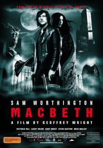 Macbeth (2006 film) - Australian film poster
