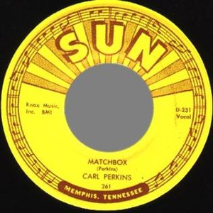 Matchbox (song) - Image: Matchbox Carl Perkins