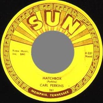 Matchbox (song) - Image: Matchbox Carl Perkins