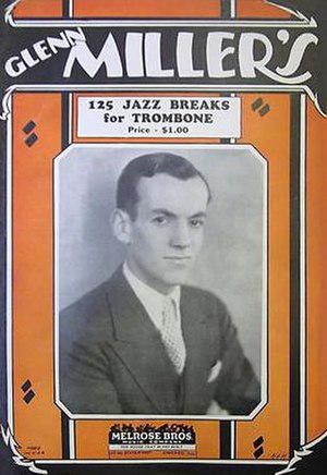 125 Jazz Breaks for Trombone - 1927 songbook cover. Melrose Bros. Music, Inc., Chicago.