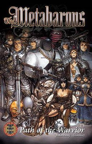 Metabarons - Album cover of Path of the Warrior.