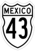 Federal Highway 43 shield