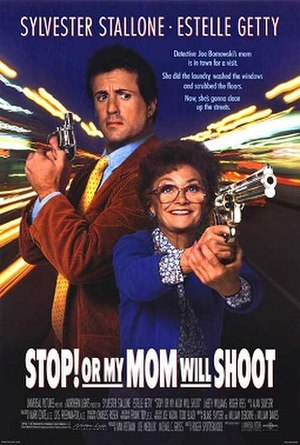 Stop! Or My Mom Will Shoot - Theatrical release poster