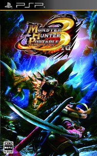 <i>Monster Hunter Portable 3rd</i> video game