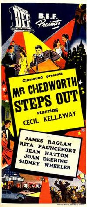 Mr. Chedworth Steps Out - Theatrical release poster