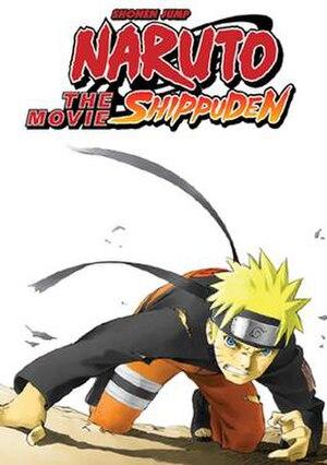 Naruto Shippuden the Movie - North American box art