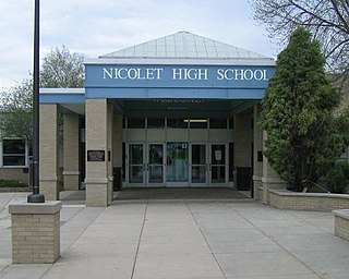 Nicolet High School Public school in Glendale, Wisconsin, United States