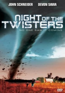<i>Night of the Twisters</i> (film) 1996 American television film directed by Timothy Bond