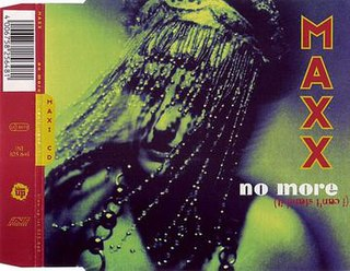 No More (I Cant Stand It) 1994 single by Maxx