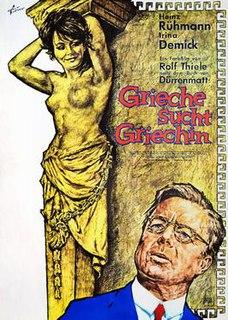 <i>Once a Greek</i> (film) 1966 film by Rolf Thiele
