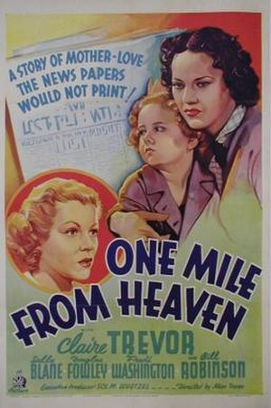 One Mile from Heaven - Theatrical release poster