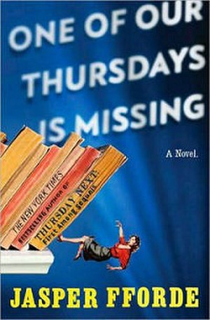 One of Our Thursdays is Missing - Image: One of Our Thursdays is Missing cover