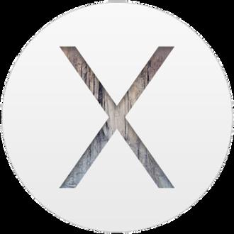OS X Yosemite - Image: Osx yosemite logo
