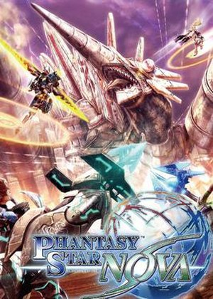 Phantasy Star Nova - Japanese game cover
