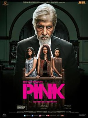 Pink (2016 film) - Theatrical release poster