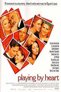 <i>Playing by Heart</i> 1998 American comedy-drama film directed by Willard Carroll