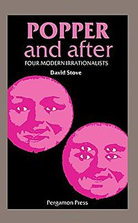 <i>Popper and After</i> 1982 book by David Stove