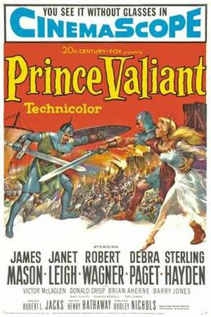 Prince Valiant (1954 film) - Theatrical release poster