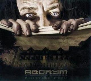 <i>Psychogrotesque</i> album of Aborym in 2010