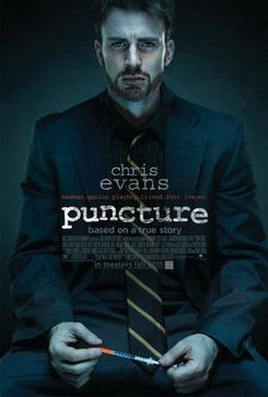 Puncture (film) - Theatrical release poster
