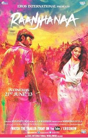 Raanjhanaa - Theatrical release poster