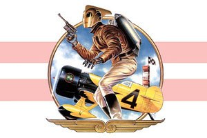 Dave Stevens -  Dave Stevens painting of the 1991 Disney film Rocketeer