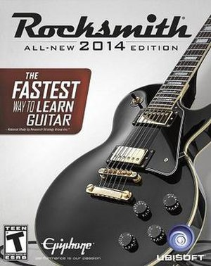 Rocksmith 2014 - Image: Rocksmith 2014 cover