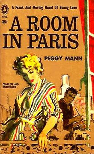 The Philco Television Playhouse - When Peggy Mann's first novel, A Room in Paris, was published by Doubleday in 1955, it was immediately adapted for The Philco Television Playhouse. In the months after the August 7, 1955 live telecast with John Cassavetes, Popular Library released their paperback edition with cover illustration by Mitchell Hooks.