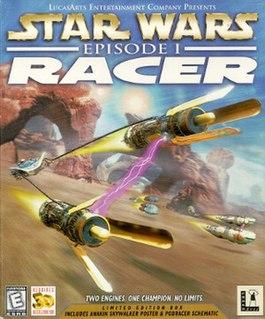 <i>Star Wars Episode I: Racer</i> 1999 racing game