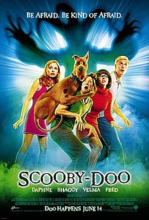 <i>Scooby-Doo</i> (film) 2002 film directed by Raja Gosnell